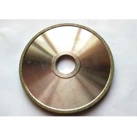 China Flat Industrial Electroplated Small Diamond Grinding Wheels 150mm Edge Abrasive wholesale