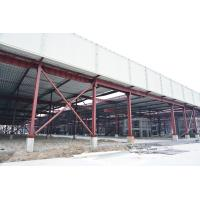 China Red Paint Metal Garage Buildings For Cargo Storage & Logistic Transportaiton wholesale