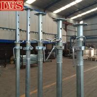 Buy cheap Size 3 Galvanised Acrow Props , Scaffolding Steel Prop For Concrete Floor Building from wholesalers