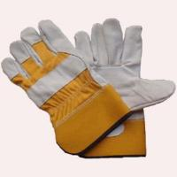 China Full Palm Cow Grain Leather Gloves (GLT101) wholesale