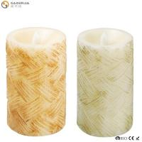 China Classical Led Garden Candle Stakes/Candle Carving/Battery Operated Flicker Birthday Candle wholesale