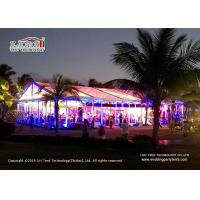 China 15m Clear Span Transparent Marquee Tent for 500 People Temporary Event Party wholesale