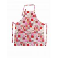 Professional Halter Strap Pink Cotton Kitchen Apron Households Products