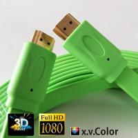 China colorful HDMI FLAT CABLE FOR PS3.XBOX,Computer, HDTV,DVD,Projector with best price wholesale