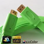 China CABLE PLANO colorido PARA PS3.XBOX, ordenador, TVAD, DVD, proyector de HDMI con el mejor precio wholesale
