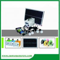 China 10w mini solar panel kits, high performance solar lighting kits with 12V/7Ah lead acid battery for sale wholesale