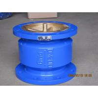 China Blue Quiet Check Valve , Stainless Steel Check Valve With Small Fluid Resistance on sale