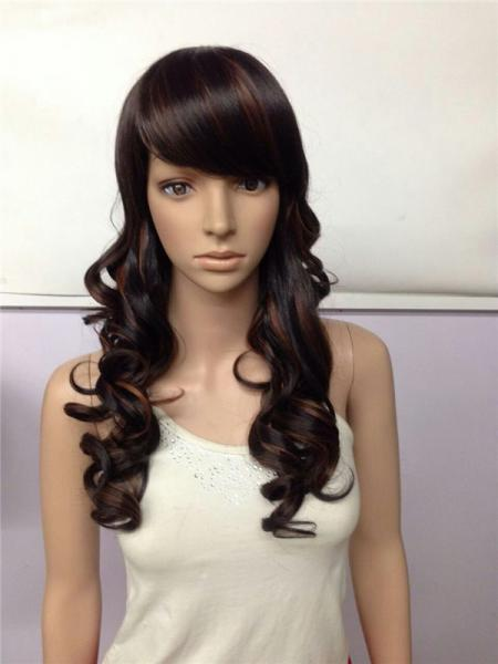 Quality Girls Long Synthetic Wigs for sale
