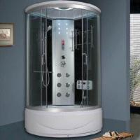 China Corner Shower Room, Enclosure, High Tray Shower Room with Computer Control Panel on sale