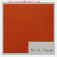 China Customized Polyester PET Spunbond Nonwoven Fabrics for Coveralls wholesale