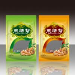 150 Gram Foil Pouch Packaging , Environmental Snack Food Packaging Bag