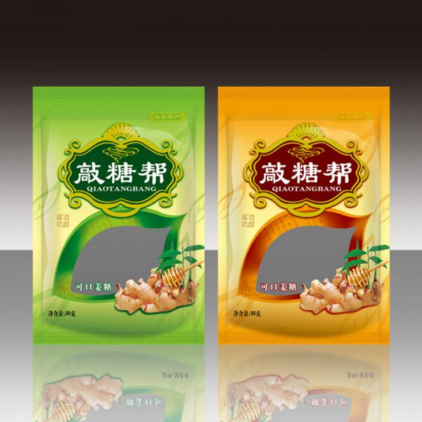 Quality 150 Gram Foil Pouch Packaging , Environmental Snack Food Packaging Bag for sale