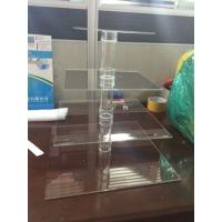 China Small Plastic 4 Tier Acrylic Cupcake Stand For Wedding Decorative wholesale