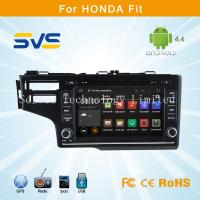 China Android car dvd player for HONDA Fit 2014 with GPS navigation Russian Menu free 4GB Map on sale