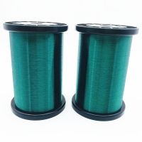 China 44 Awg 0.05mm Green Color Polysol Guitar Pickup Coil Wire wholesale