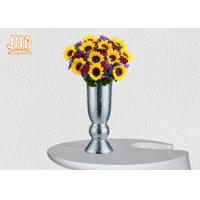 China Mosaic Glass Table Vase Homewares Decorative Items Silver Floor Vase For Living Room wholesale