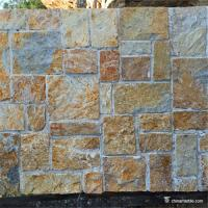 China Quartzite Random Loose Stacked Stone For Landscape Garden Wall Decoration wholesale