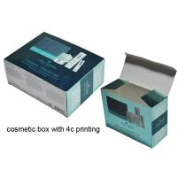 Buy cheap Paper Cosmetic Packing Box, Colorful Box for Cosmetic Packaging from wholesalers