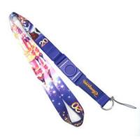 China Screen Printed Cell Phone Neck Strap Lanyards 25MM Width With Disney Logo on sale