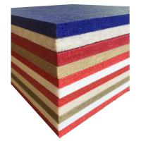 China Hotel Polyester Acoustic Panels Fireproof Material Low Melt Staple wholesale
