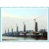 China 20 Ton Flat Top Tower Crane Jib Length 75m And 3 Ton Tip Load Capacity wholesale