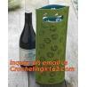 China Popular Style Colours Felt Wine Bag Hollow Out, Cute fashion Designer Santa pants felt wine bag, TOTE Felt Gift Wine Bag wholesale