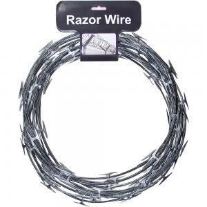 China Concertina Razor Barbed Wire Price/Hot Dipped Galvanized Razor Wire wholesale