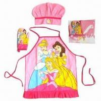 China Kid's Apron Set, Customized Colors are Accepted wholesale