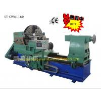 China Computerized Heavy - duty 4 Jaw Horizontal Lathe Machine for Large Diameter Flanges wholesale