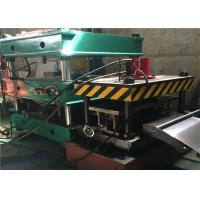 China Warehouse Storage Rack Roll Forming Machine , 21.5kw Roll Former MachineCr12 Roller wholesale