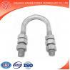 Hot-dip galvanized steel u bolt clamps
