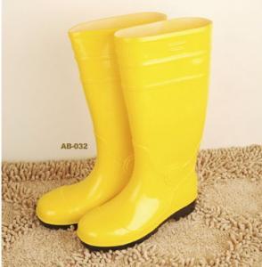 China Cheap Colorful Ladies PVC Rain Boots, Pvc boots Women Sizes 36-42# on sale