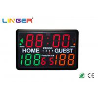 China Digital Popular Aluminum Frame Portable Electronic Scoreboard For Studuim wholesale