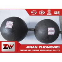 China High Carbon Grinding Balls For Mining / Durabl Steel Mill Media wholesale