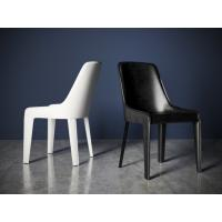 China White / Black Custom Made Furniture Solid Wood Dining Chairs For Restaurant wholesale