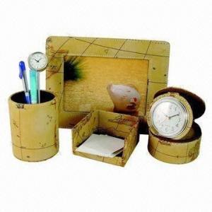 China Stationery Gift Set, Made of PU Leather wholesale