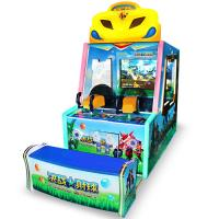 China Redemption Ball Shooting Arcade Machine With W110 X D260 X H 190 CM Size wholesale