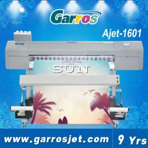 China pvc flag banner sticker printing dye sublimation printer machine plotter wholesale