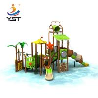 China Sea Sailing Series Kids Water Slide , Stable Outdoor Playground Equipment on sale