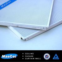 China Aluminum Ceiling Tiles and Aluminium Ceiling for Insulation Suspended Ceiling Tiles on sale