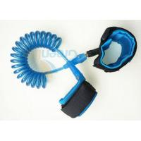 China 5.5MM Diametre Cord Strong Toddler Safety Harness With 2 Velcro Wrist Links wholesale