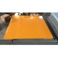 China Hot Galvanized Carbon Steel Floor Weighing Scales 1.5x1.5m 3t / 5t Single Deck on sale