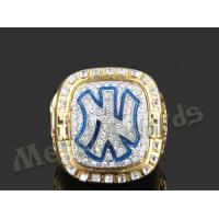 China High End Zinc Alloy Ring New York Yankees Rings For Men UV Resistant wholesale