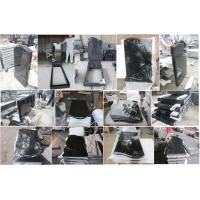China Super Jet Hebei Black Granite Tombstone for Cemetery