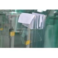 China Coated Pvb Resin Tempered Safety Glass Impact Resistance , Heat Strengthened Glass wholesale