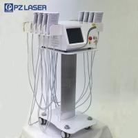 China 650nm & 940nm Lipo Laser Slimming Machine With 7 Kinds Language Optional wholesale