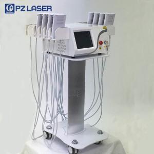 China 650nm & 940nm Lipo Laser Slimming Machine With 7 Kinds Language Optional on sale