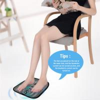 China Meraif Remote Control EMS Foot Massage Mat Pad, USB Rechargeable Electric Foot Sole Massager with EMS Technology for Wom wholesale