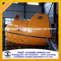 MED Approved Marine Fiberglass Lifeboat/Rescue Boat