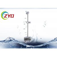China 25mm Size Hand Held Shower Head With Slide Bar , CE Shower System With Slide Bar on sale